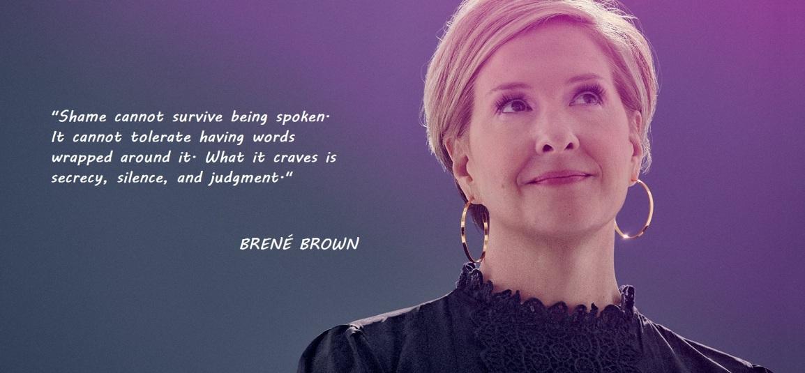 brene - shame quote